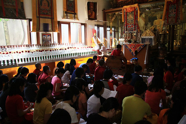 Teaching Puja Tara 03