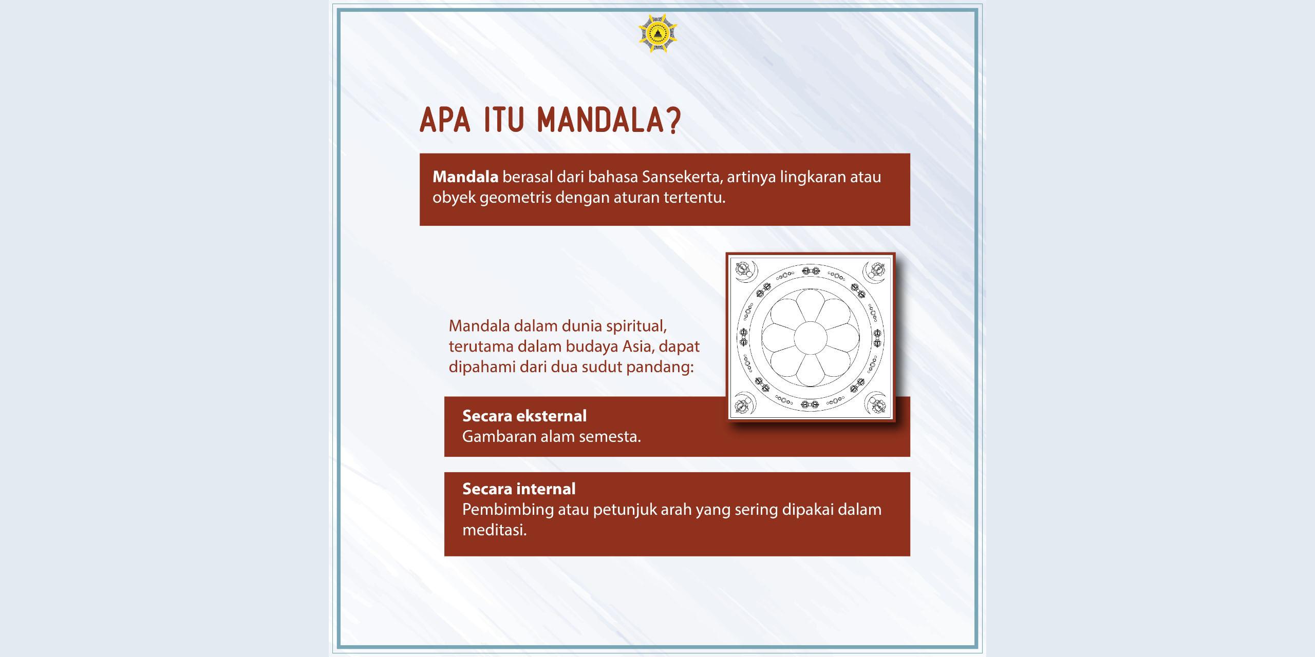 Mempersembahkan Mandala, Mempersembahkan Alam Semesta