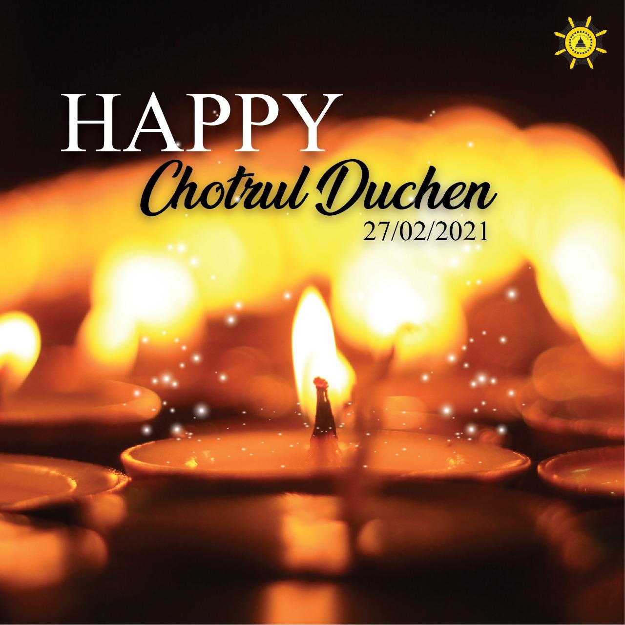 Perayaan Chotrul Duchen